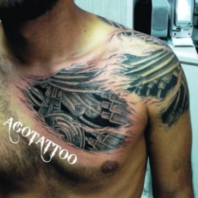 AGOTATTOO ART STUDIO --BIOMECCANICO