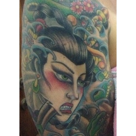 Geisha finished