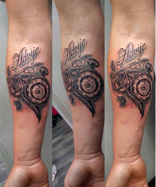Tatuaggio orologio tatuaggio bussola e rose for Bussola tattoo significato