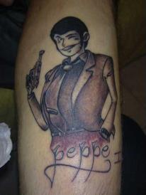 street jungle tattoo   ----lupen