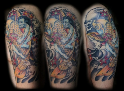 Tattoos by Massimo Ursino - Absinthium Tattoo Palermo