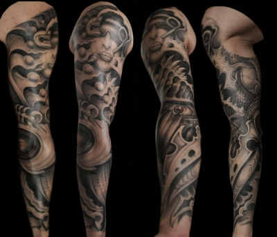 Il Rosso Tattoo  ---Tribute Giger