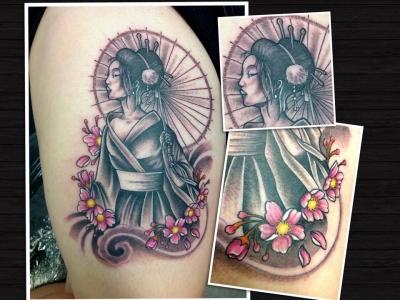 Phreak Ink  --geisha-1