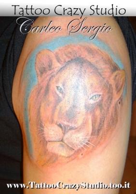 tattoocrazystudio  ----------leone