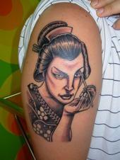 i miei tatuaggi giapponesi