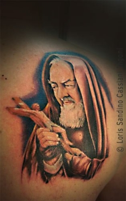 LORIS TATTOO  Padre Pio