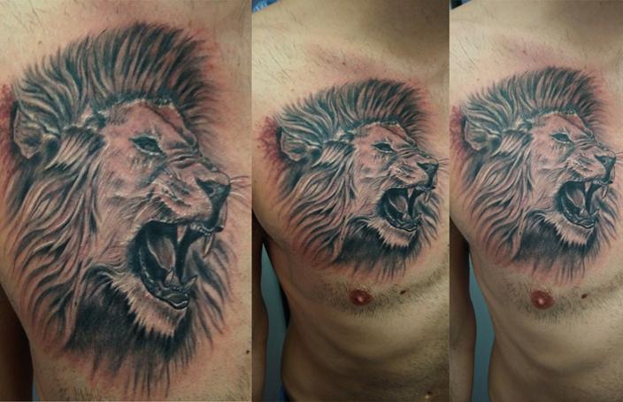 Tatuaggio Leone-1