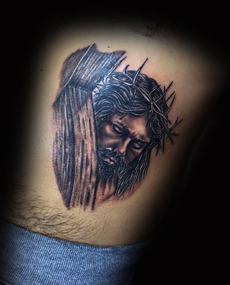 Tatuaggio Gesù -1