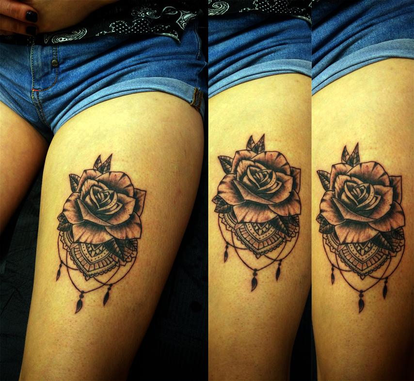 Tatuaggio rosa-1