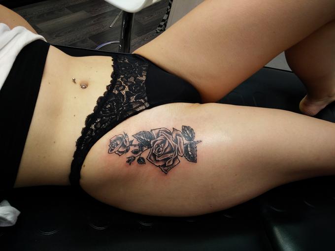 Tatuaggio rosa -1