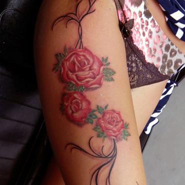 Tatuaggio rose-1