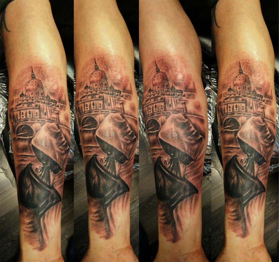 Tatuaggio San Pietro Vaticano Roma-1